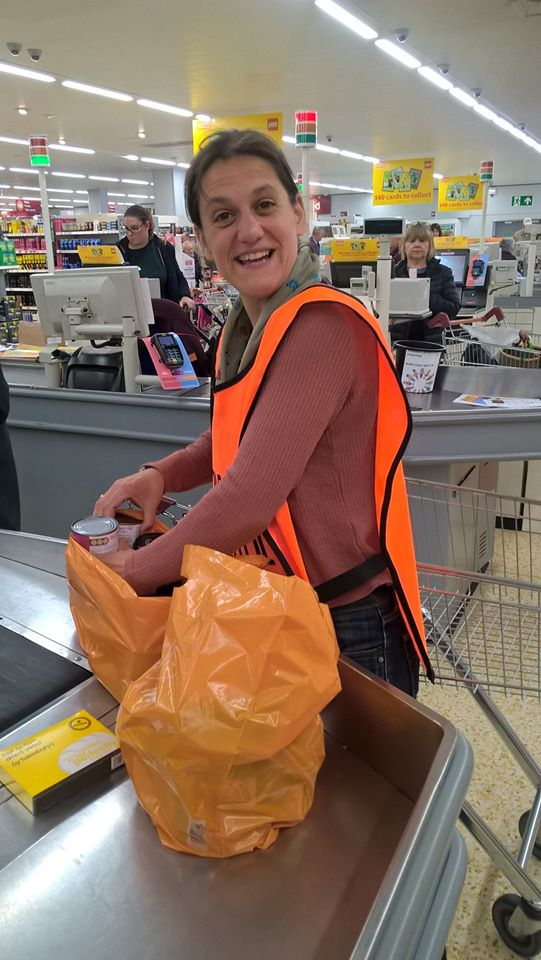 Our happy band of bag packers! | Home-Start Bristol